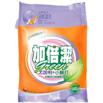 《加倍潔》尤加利+小蘇打防蟎潔白 超濃縮洗衣粉(2kg/袋)