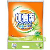 《加倍潔》茶樹+小蘇打制菌潔白洗衣粉(4.5kg/袋)