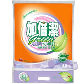 《加倍潔》尤加利+小蘇打防蟎潔白 超濃縮洗衣粉(4.5kg/袋)