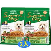 《旺得福》機能犬糧-頂級香煎羊排2kgx2包