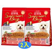 《旺得福》機能犬糧-頂級鮮嫩牛排(2kgx2包)