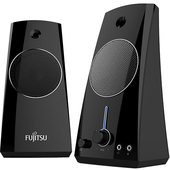 《FUJITSU 富士通》AC電源多媒體喇叭 PS-130 (買就送鋼彈耳機) $378