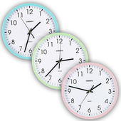 《LIBERTY利百代》12吋時尚簡約掛鐘 LB-1006(綠)
