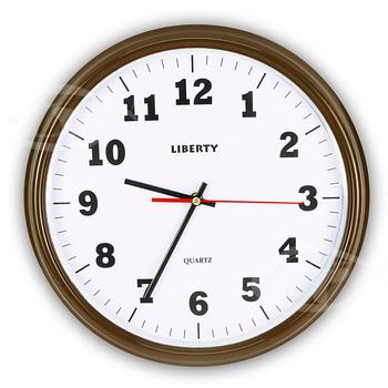 《LIBERTY利百代》14吋簡約復古掛鐘 LB-1007