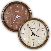 《LIBERTY利百代》14吋復古風格掛鐘 LB-1004(茶色)