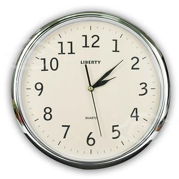 《LIBERTY利百代》14吋時尚復古掛鐘 LB-1003