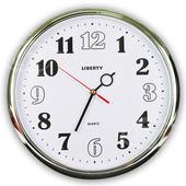 《LIBERTY利百代》14吋個性簡約掛鐘 LB-1001
