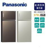 《Panasonic國際牌》579L雙門變頻環保電冰箱NR-B589TG(含拆箱定位)(N-翡翠金)
