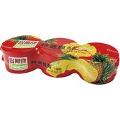 《台鳳牌》四分片鳳梨罐頭(227g x 3罐)