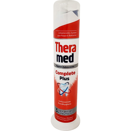 《THERAMED德拉美》站立式牙膏100g/瓶(深層清潔)