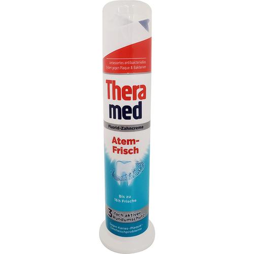 《THERAMED德拉美》站立式牙膏100g/瓶(持久清新)