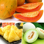 《果之家》果之家 活力滿滿水果箱(木瓜+金鑽鳳梨+蜜世界)