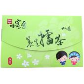 《啡茶不可》哈客愛北埔綠茶擂茶4盒一組(38gx16入/盒)~抹茶口味,新竹北埔最具特色地方名產,最佳伴手禮。