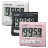 《LIBERTY利百代》清新可愛多功能計時器 LB-8014(黑)
