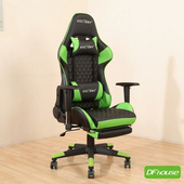 《DFhouse》派屈克-電競椅(綠色)