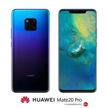 HUAWEI Mate 20 Pro ∥ 徠卡超廣角鏡頭,進階人工智慧手機(極光色)