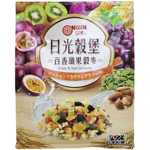 日清 日光穀堡百香纖果穀麥(350g/袋)