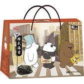 《聯華》卡通總動員韓式海苔禮盒(54g)