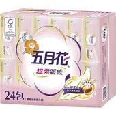 《五月花》超柔質感抽取式衛生紙(100抽*24包)