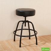 《DFhouse》麥肯基-泡棉旋轉椅(黑色)