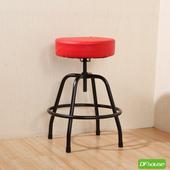 《DFhouse》麥肯基-泡棉旋轉椅(紅色)