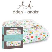 《美國Aden + Anais》ZUTANO聯名 純棉四層厚毯(遊樂花園款Z350)