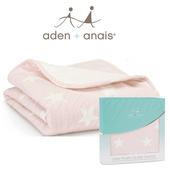 《美國Aden+Anais》法蘭棉絨推車毯(16500清星粉)