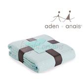 《美國Aden+Anais》純棉四層厚毯(金蔥款)(6059綠色銀蔥)