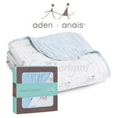 《美國Aden+Anais》純棉四層厚毯(6030勇敢飛天狗)
