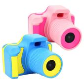 YT-03 1080P馬卡龍攝錄影兒童數位相機(藍色)