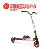 《TECHONE》Y Fliker SP5 搖擺滑板車-速度升級款(烈焰紅)