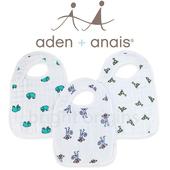 《美國Aden+Anais》圍兜兜(3入裝)(7102叢林動物)