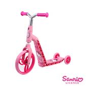 《Hello Kitty》凱蒂貓KITTY。幼兒滑步滑板車 HCA71117健身休閒用品53折起