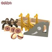 《BeginAgain》木頭造型玩具(保齡球遊戲 S1701)