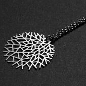 《Moorgin》樹枝項鍊 銀(XS -S14)