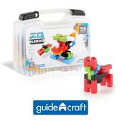 《Guidecraft™》IOBlocks® (智能積木)(59pcs旅行組)