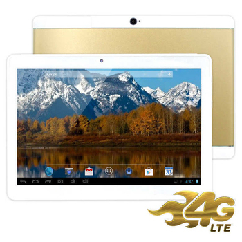 《IS愛思》奇蹟覺醒 香檳金 10.1吋八核心4G LTE通話平板電腦(4G/32GB)(香檳金)