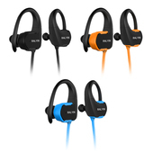 《SOYES》運動防水耳掛式MP3播放內建8G藍牙耳機BT7(黑色)
