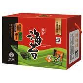 《橘平屋》味付海苔禮盒2.6g×18入 $225
