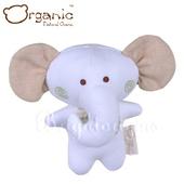 《加拿大 Organic》有機棉嬰兒玩具-啾咪安撫娃娃(小象)