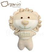 《加拿大 Organic》有機棉嬰兒玩具-啾咪安撫娃娃(小獅)