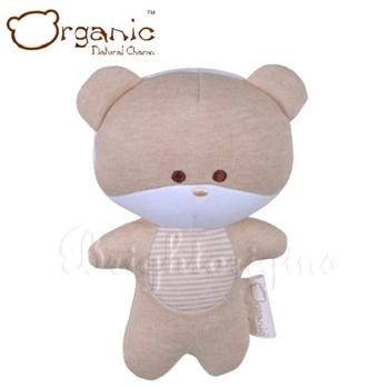 《加拿大 Organic》有機棉嬰兒玩具-啾咪安撫娃娃(小熊)