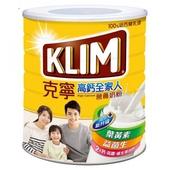 《克寧》高鈣全家人營養奶粉2.2kg/罐