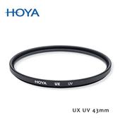 《HOYA》UX SLIM 43mm 超薄框UV鏡贈對焦版L M
