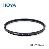 《HOYA》UX SLIM 77mm 超薄框UV鏡贈對焦版L M