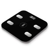 《MTK》時尚超薄藍牙無線體重計A1(黑色)