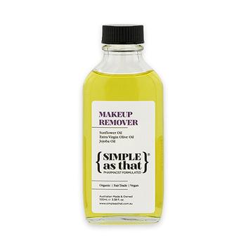 《SIMPLE as that》澳洲-兒茶素清爽卸妝油(100ml/瓶,共1瓶)