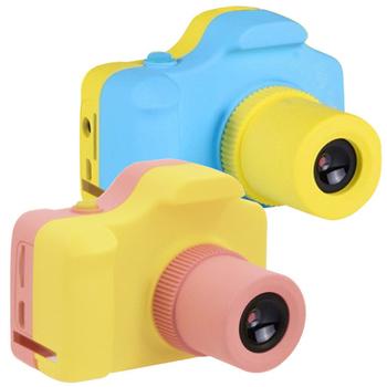 YT-01 PLUS 馬卡龍迷你兒童數位相機(粉色)