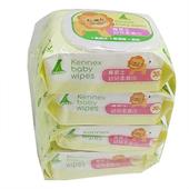 《肯尼士》幼兒加蓋柔濕巾(30抽X4包/組)UUPON點數5倍送(即日起~2019-08-29)