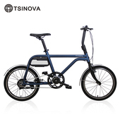 《TSINOVA》TS01 ONE 20吋 電動輔助自行車 小徑車 電輔車 電單車(耀石藍)